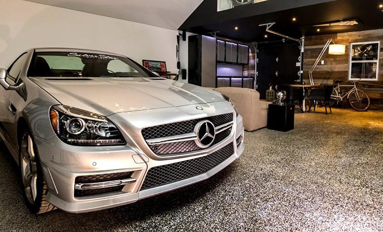 Luxury Car Floor Zone Garage