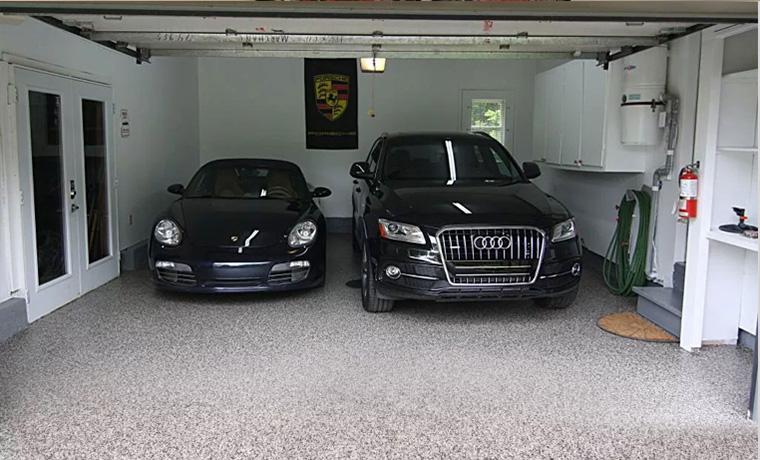 Residential Garage Epoxy Floor