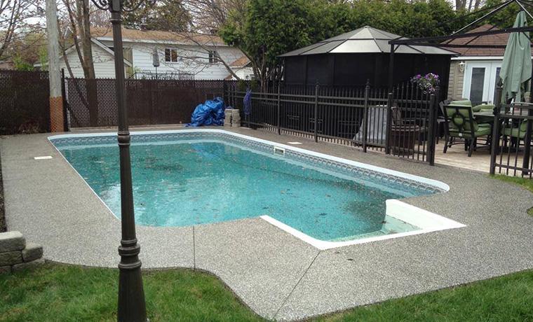 Pool Deck Epoxy