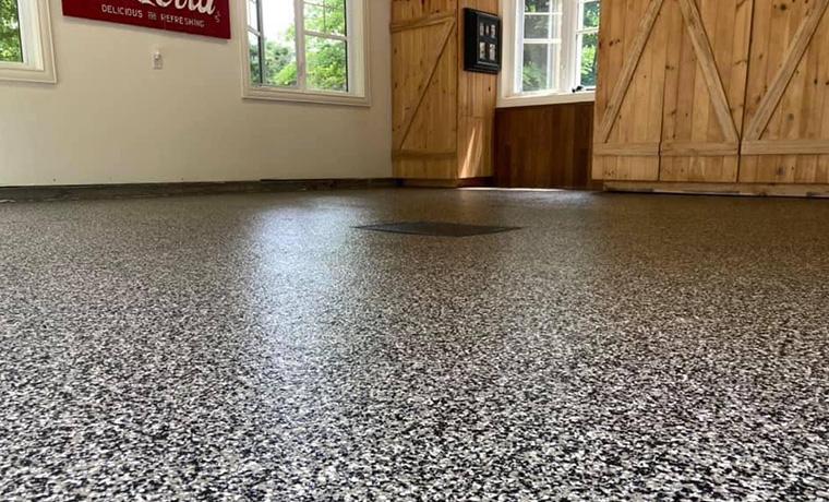 commercial floor flakes zone garage