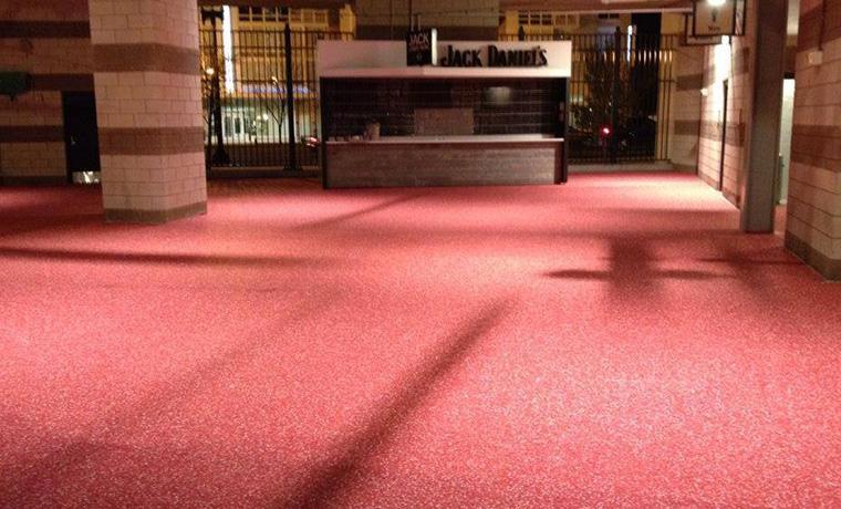 restaurant floor epoxy zone garage